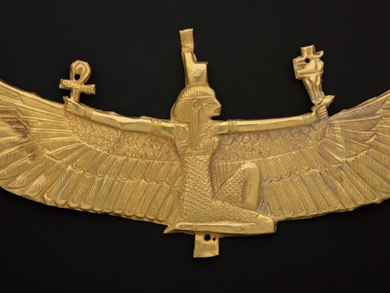 Winged Isis Pectoral, Napatan Period, 538-519 B.C.
