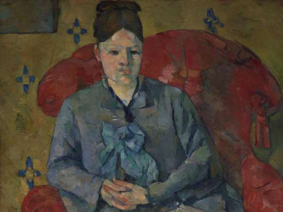 Cézannes portraits painting and repainting the presence of someone seen