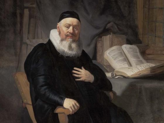Rembrandt van Rijn, Reverend Johannes Elison, 1634
