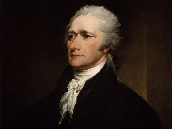 John Trumbull, Alexander Hamilton, 1806