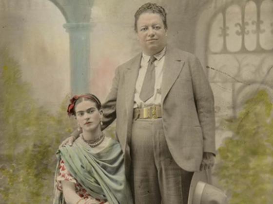 Victor Reyes, Wedding portrait of Frida Kahlo and Diego Rivera, 1929