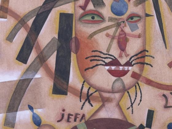 Xul Sola, Jefa (Patroness), 1923.