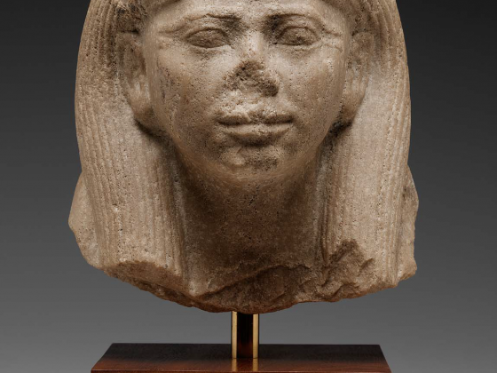 Head of a queen, from a sphinx, 1897–1878 B.C.