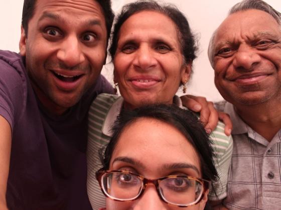Film Still from Meet the Patels