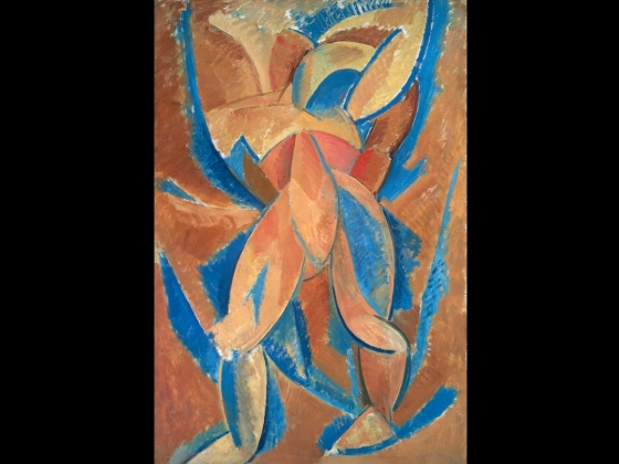 Pablo Picasso, Standing Figure, 1908
