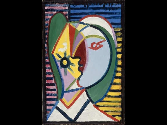 Pablo Picasso, Head of a Woman, Portrait of Marie-Thérèse Walter, 1934