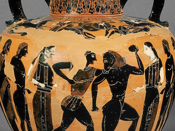 The Swing Painter, Amphora/Psykter, about 540 B.C.