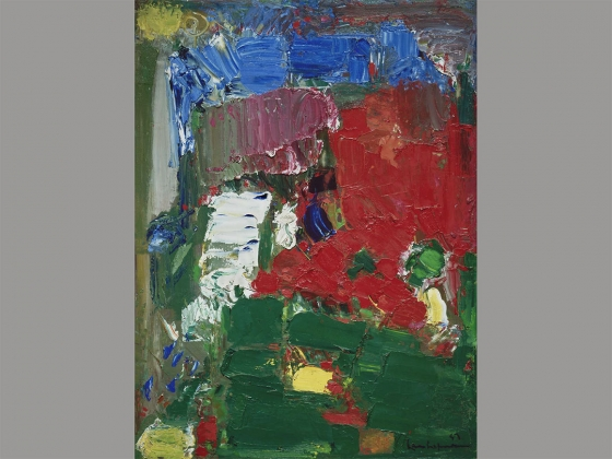 Hans Hofmann's painting, Twilight, 1957