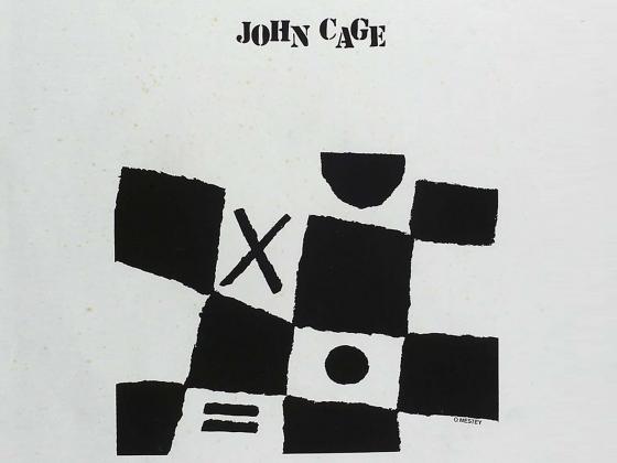 Oscar Mestey-Villamil, En ocasión del 70 cumpleaños de John Cage, 1985 (Poster proof), 1985