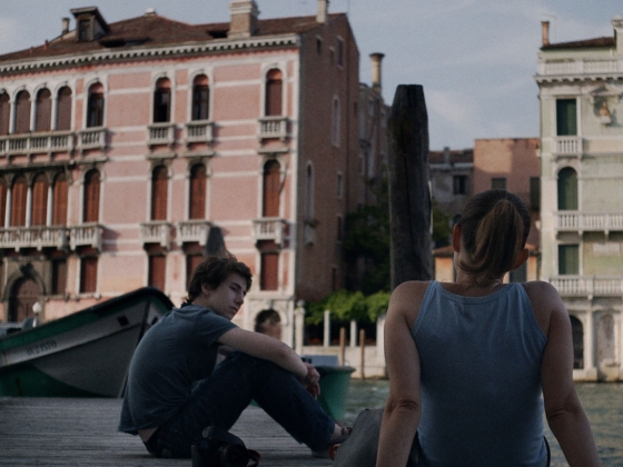 Film Still from Venice Ghetto