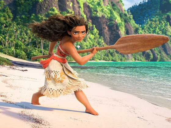 Still from Moana