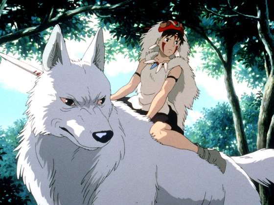 Still from Princess Mononoke