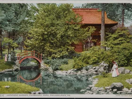 Japanese Garden, Fairmount Park, Philadelphia, PA. 12764 | Museum Of Fine  Arts, Boston