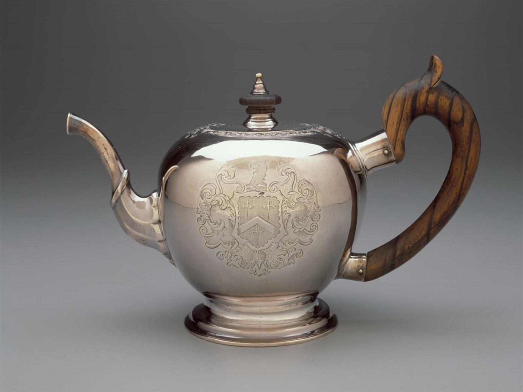 Jacob Hurd, Teapot, about 1730–35