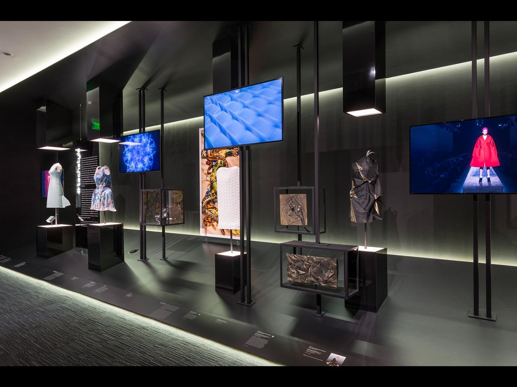 Installation shot of #techstyle exhibition