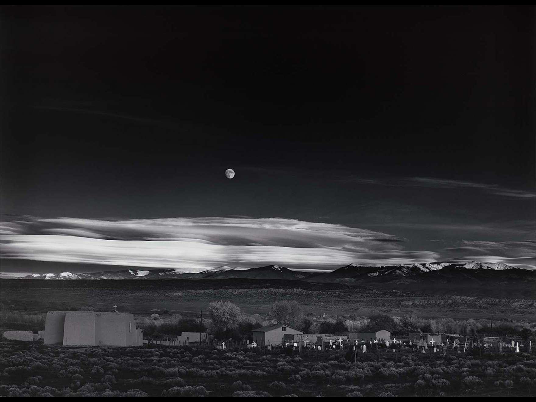 Ansel Adams's photograph, Moonrise, Hernandez, New Mexico