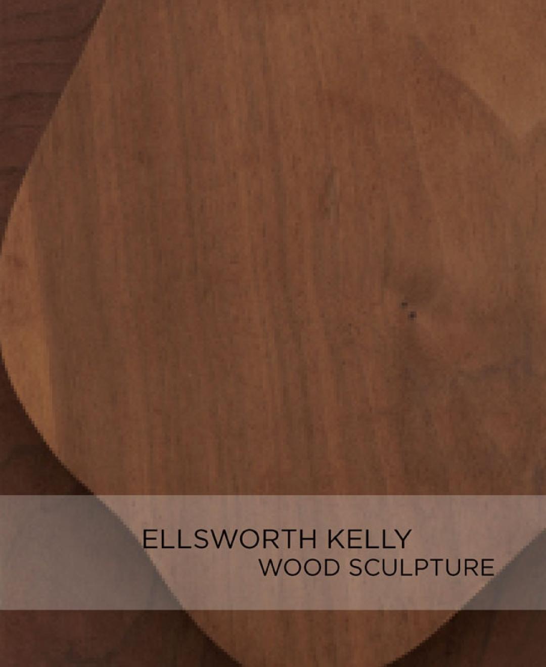 Ellsworth Kelly Wood Sculpture