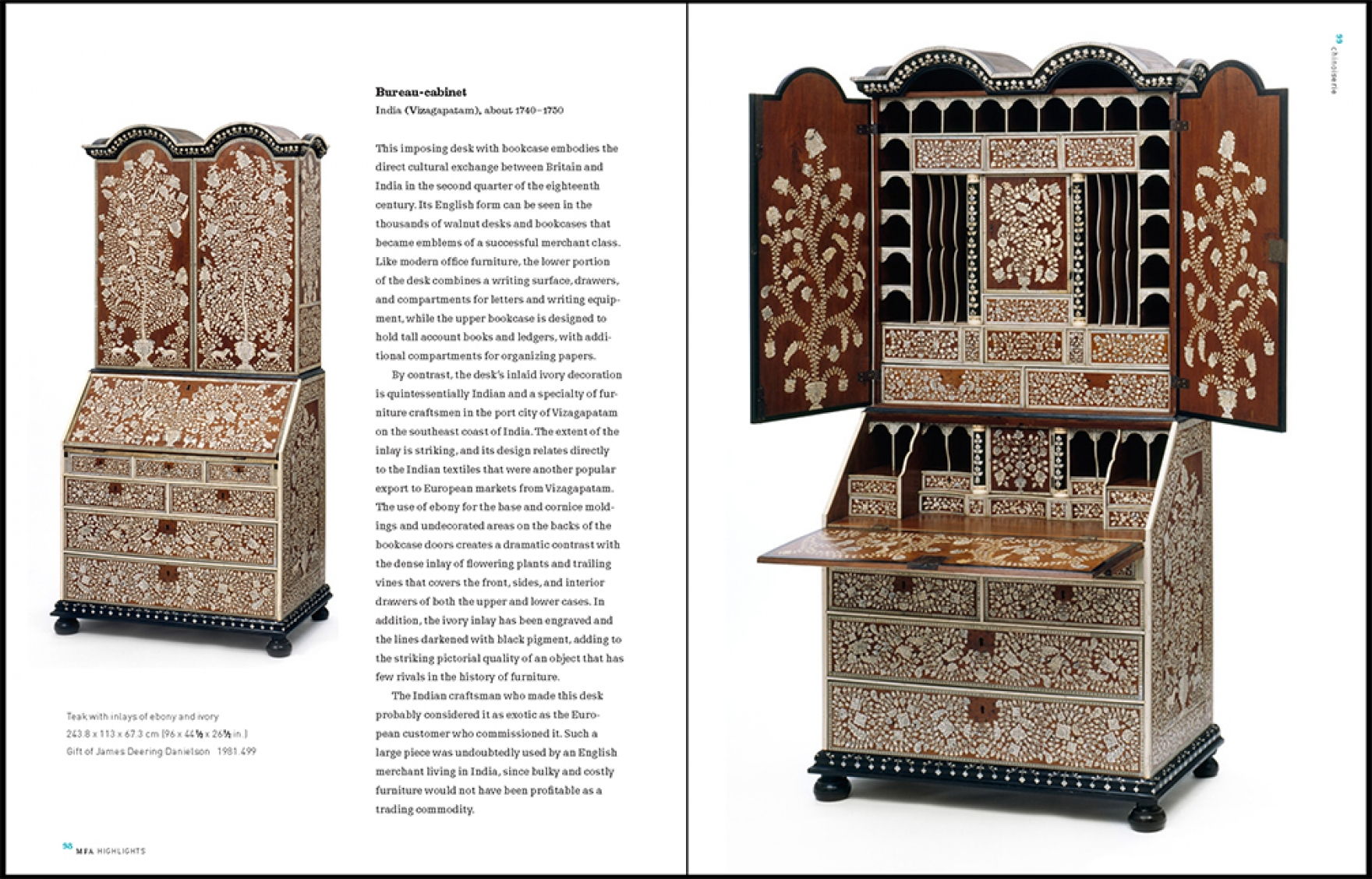 European Decorative Arts sample spread 2