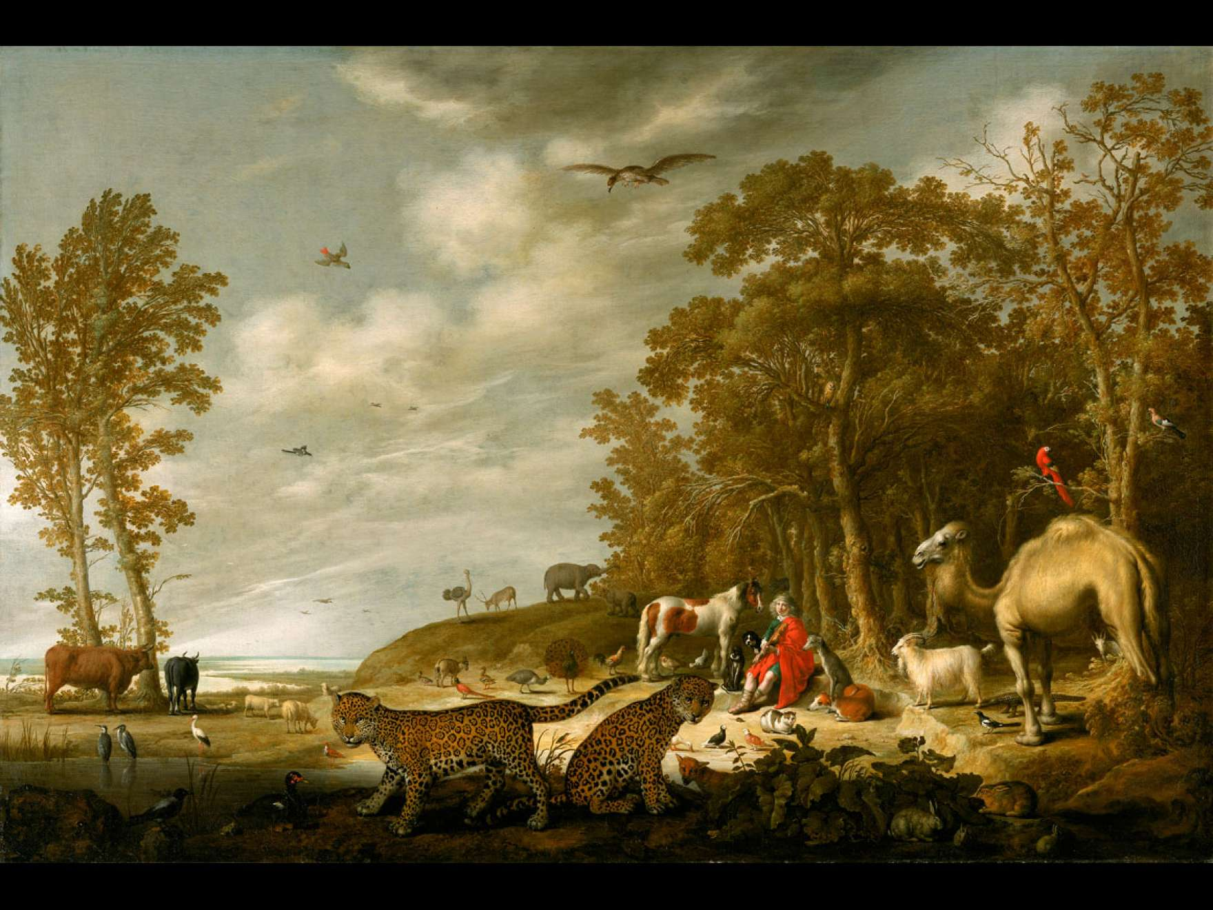 Aelbert Cuyp's painting, Orpheus Charming the Animals
