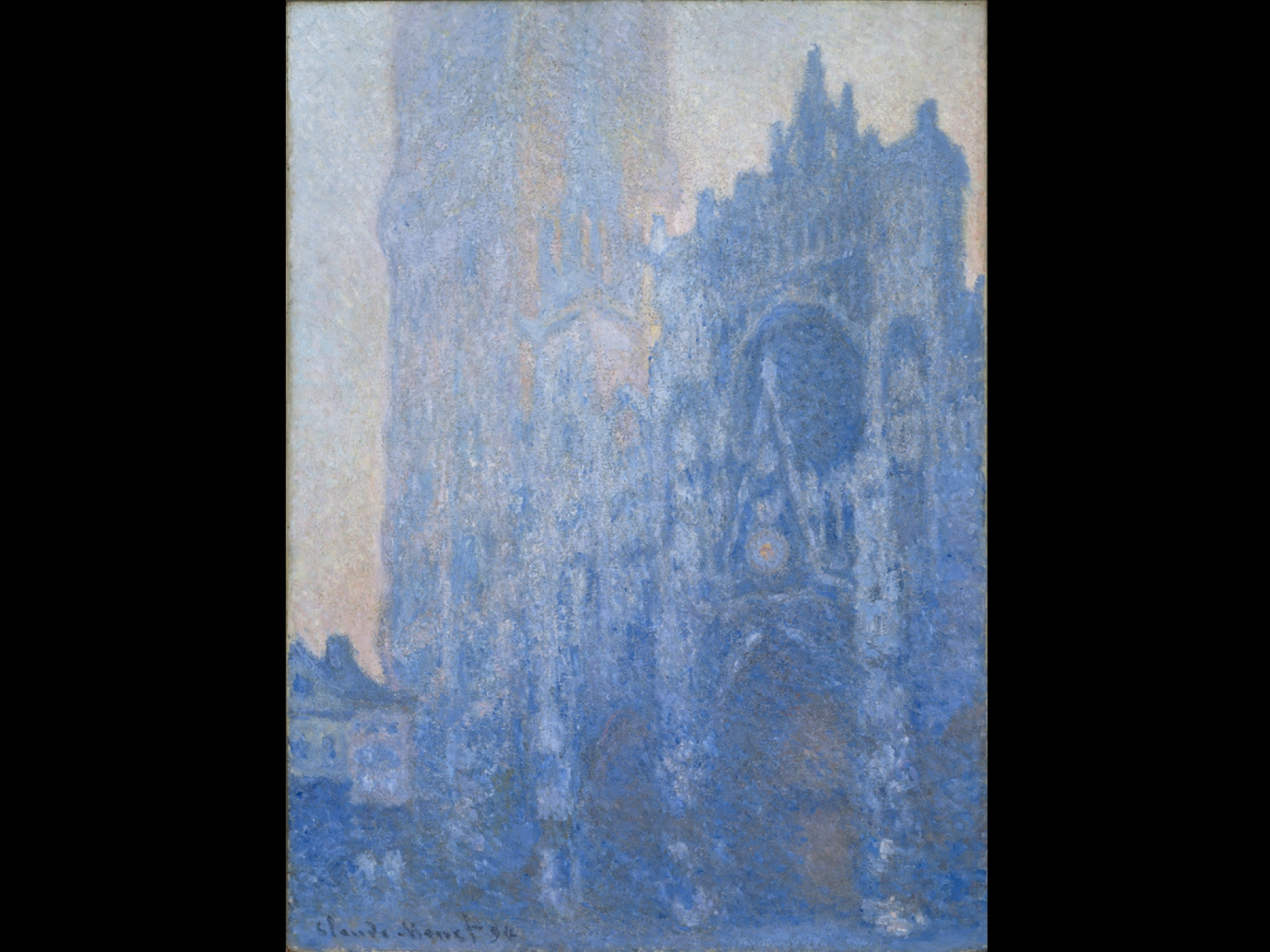 Claude Monet, Rouen Cathedral Façade and Tour d'Albane (Morning Effect), 1894