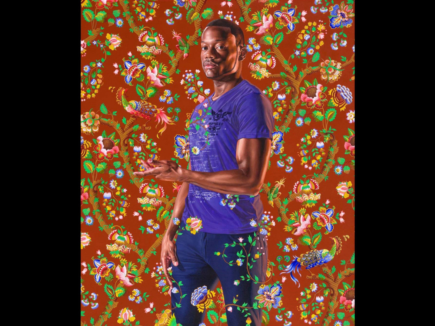 Kehinde Wiley, John, 1st Baron Byron, 2013. Juliana Cheney Edwards Collection, The Heritage Fund for a Diverse Collection and funds donated by Stephen Borkowski in honor of Jason Collins.