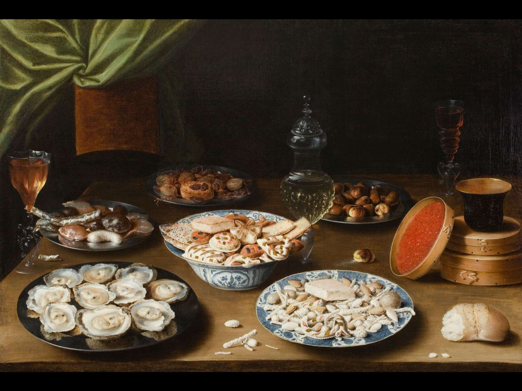 Osias Beert's painting, Still Life with Various Vessels on a Table